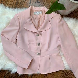 Tahari Pale Pink Blazer